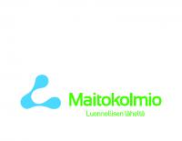 MAITOKOLMIO_logo_vaaka_slogan