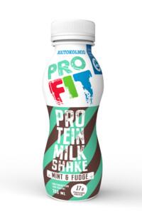 Maitokolmio_Profit_Proteinmilkshake_Mint&Fudge
